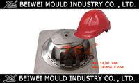Industrial plastic safety helmet mould