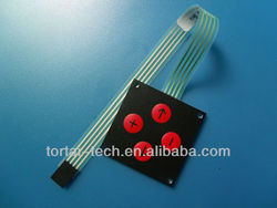 high quality Membrane Switch, Male, Female and Heat Seal Connectors are Available,membrane switch manufacturer