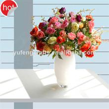 vidrio de la máquina noble florero florero de vidrio