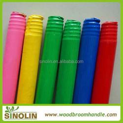 polishing brush handle with pvc cover