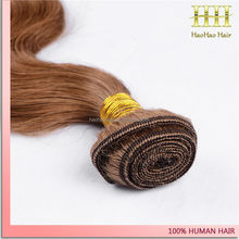 High quality wholesale price large stock thick end orange hair extension