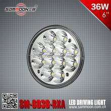 5 Inch 36W Round LED Driving LightATV head light 4X4 roof top LED light off road waterproof spot light