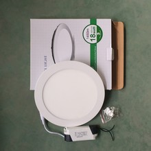 2015 new product 18w round led panel light with isolated driver