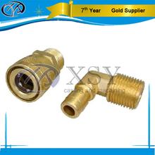 Brass coupling sand casting