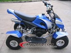 49CC ATV Mini Quad Bike For Kids Pull Start& E-Start ATV