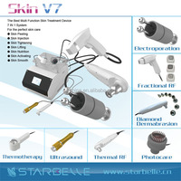 Mesotherapy galvanic radio frequency face cooling rf beauty machine - Skin V7