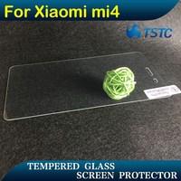 superhard h9 crystal clear anti peek safeguard toughened glass screen protector for xiaomi mi4