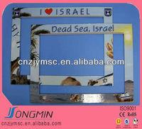 hot sale flexible decrocative magnetic fridge photo frame