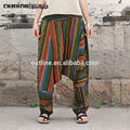lunkuo original de la marca 2014 el último diseño despojado de moda los pantalones harem l142k004 las mujeres