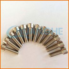 Factory supply good quality din 934 titanium screw m5