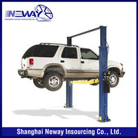 CE certified 10000 lb two post vehicle lift