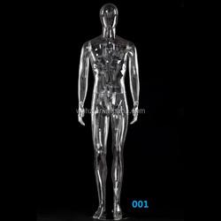 Muscle male mannquin plastic transparent color
