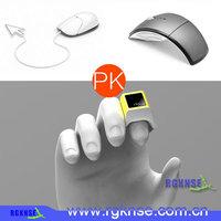 2015 new model handheld wireless trackball one Finger Mouse