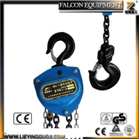 Types of Crane/Alibaba Approved Chain pulley Block Manufactuer/ 1 ton crane with CE Certificates