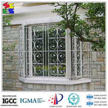 Fashionable good quality reasonable price wrought iron window design