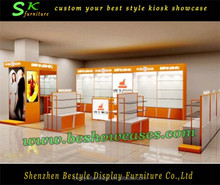 New modern clothes store cardboard retail display furnitures for sale
