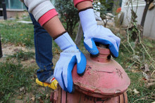 personal protective equipment gloves working