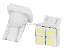 RV LED Light interior lamp Replaceable Part T10 194 W5W Wedge 5050 SMD 4-LED Bulbs Car Tail Light White DC 12V
