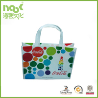 Free Sample Foldable Fabric Grocery Bag Polyester Shopping Bag