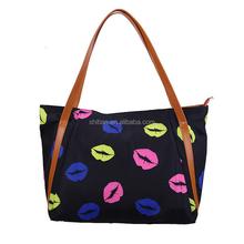 Luxury Shopping Bag 2015 Women Fashion Black Handbag