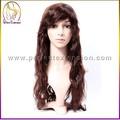 caliente productos de la india de pelo largo llenas del cordón pelucas para hombre