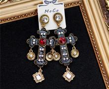 women accessories restoring ancient ways cross earrings pendant earrings