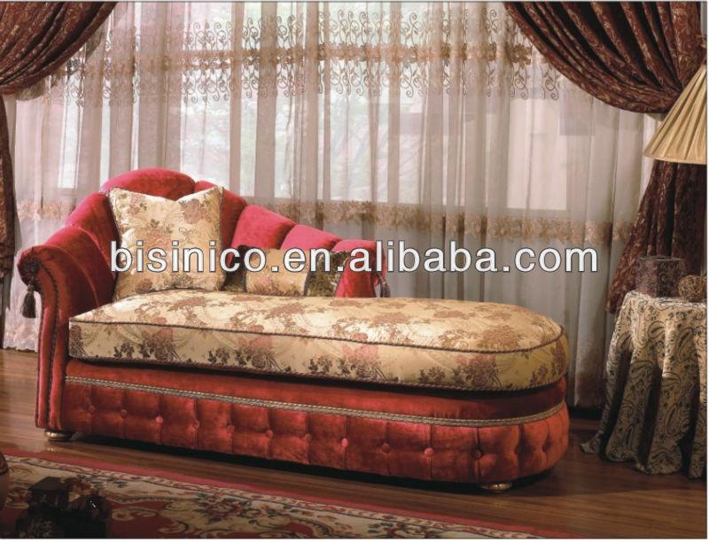 Elegante cl sico chesterfield sof cama sala de estar de tela sof ocio chaise longue de long - Sofa cama clasico ...