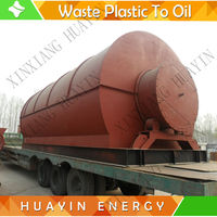 0 potencial explosion plastic waste pyrolysis plant with Q345R boiler plate