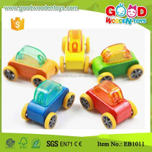 On Sale Colored Kids Small Craft Wooden Car Toy