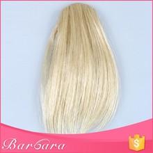 Barbara supply free sample factory price hot sale hair piece bangs, side swept hair bangs