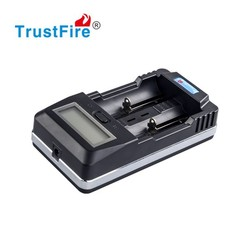 Trustfire TR-011 18650 li ion battery AA/AAA size NiMH/NiCD Lcd Battery Charger With Discharge