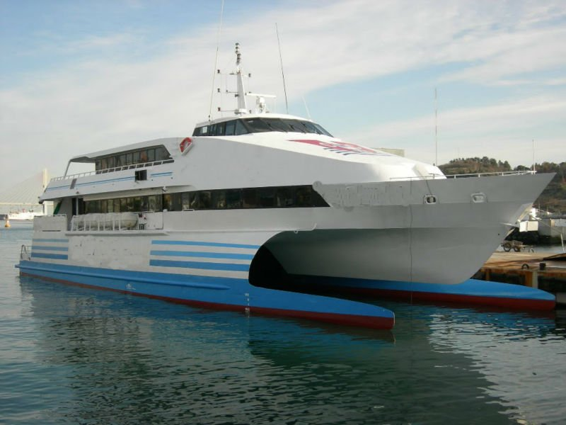 350p Catamaran Passenger Ship For Sale Photo Detailed
