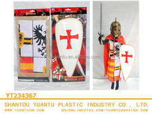 New and popular knights plastic medieval swords plastic toys set for kids!