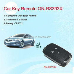 New Compatible with Buick Remote Customized Used for Car Remote Key QN-RS393X