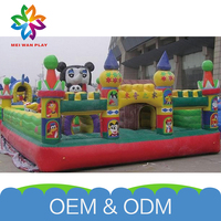 China Wholesale Funny Commercial Kids Indoor&Outdoor Free Customize Inflatable Bouncer Bouncy Toy Castles