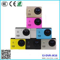 Proable mini outdoor Waterproof JK16 camera black edition action camera latest 2014