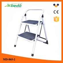 2014 aluminium ladder motorcycle ladder Yongkang supplier qualified folding steel portable ladders (MD-865-2)