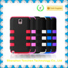 Six point robot silicone and PC 3 part hybrid cellphone case for iphone 5 / for iphone 5 combination case