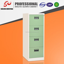 Luoyang KD structure steel file cabinet 4 drawers vertical file cabinet