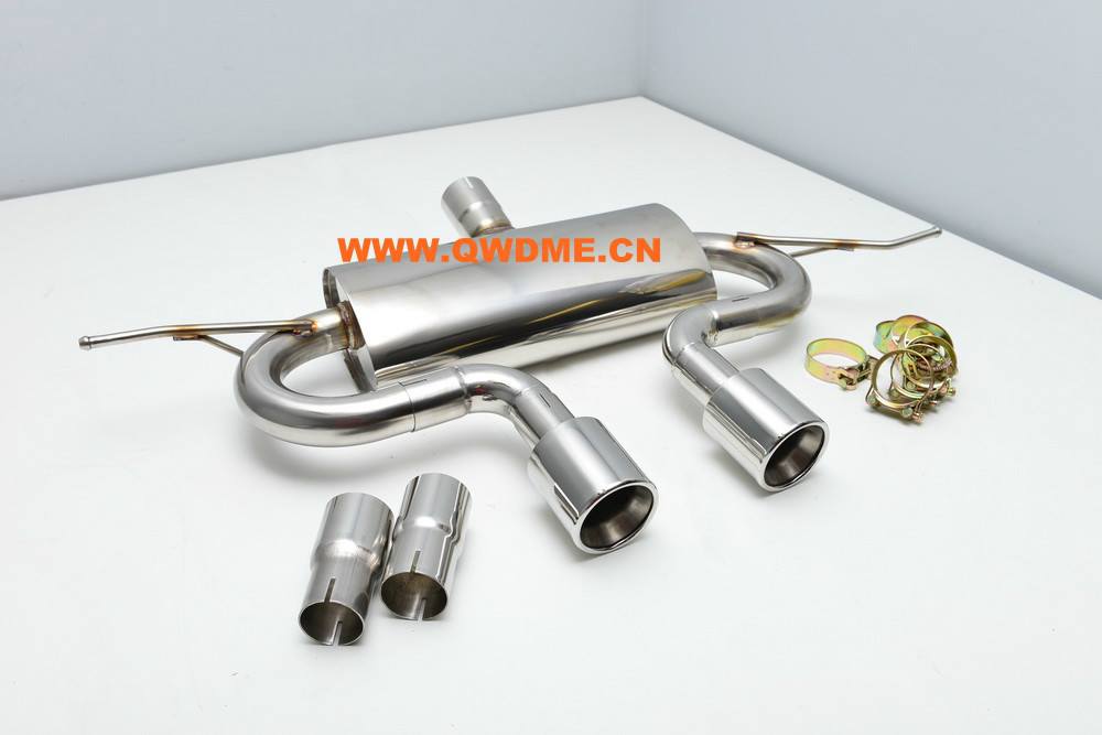 Exhaust system exhaust muffler for VW Golf 5 6 GTI