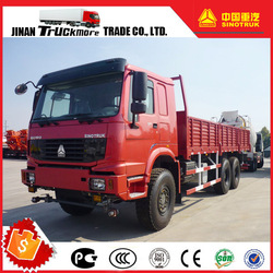 Engine 290PS Euro II Left Hand Drive SINOTRUK HOWO All Wheel Driving 6x6 Cargo Heavy Duty Truck