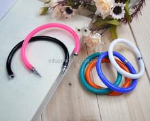High quality candy color bracelet pen/wrist ballpoint pen