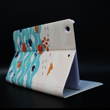 OEM/ODM low MOQ Dormancy minion case for ipad 2 3 4,case for ipad mini,remax leather case for ipad