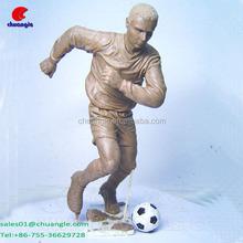3D Sculpture Model Sport Player Head Sculpture