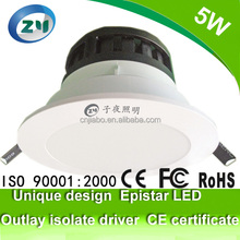Power saving led downlight 5W classical one