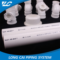 2.3-10.0Mm Thickness Lc Logo Low flow resistance 30 inch pvc pipe