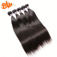 Unprocessed virgin huma hair can be dyed remy brazilian straight hair