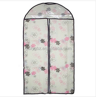Factory Non-Woven Dust-proof Clothes Cover Suit Dress Garment Bag Storage Protector