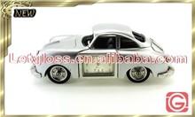 Wholesale zinc alloy Classic mini car table clock