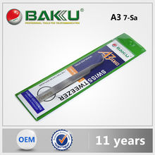 Baku High Grade Cheap Price Tweezer Magnifier With Led Light For Cell Phone